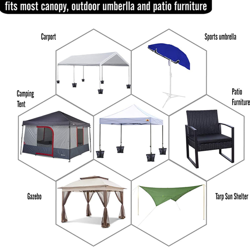 Canopy Weight Tent Sand Bags