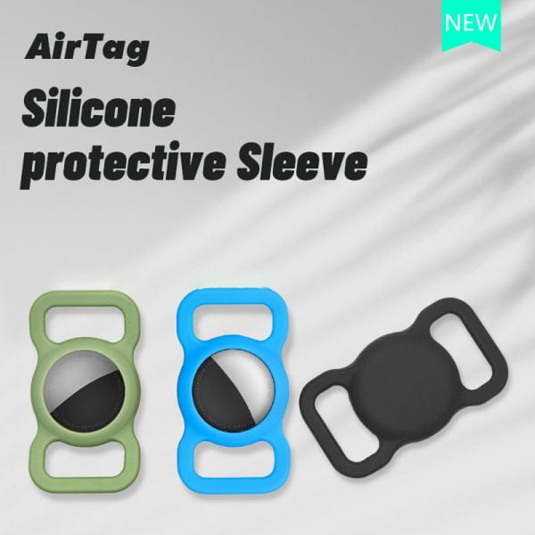 4 PCS Silicone AirTags Holders