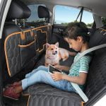 Scratchproof 4 In 1 Dog Car Seat Cover