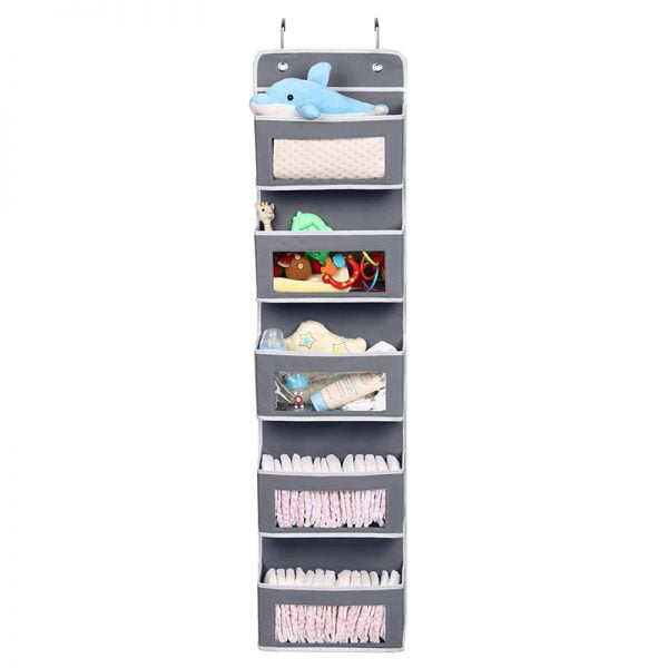 Over The Door Organizer With Clear Window
