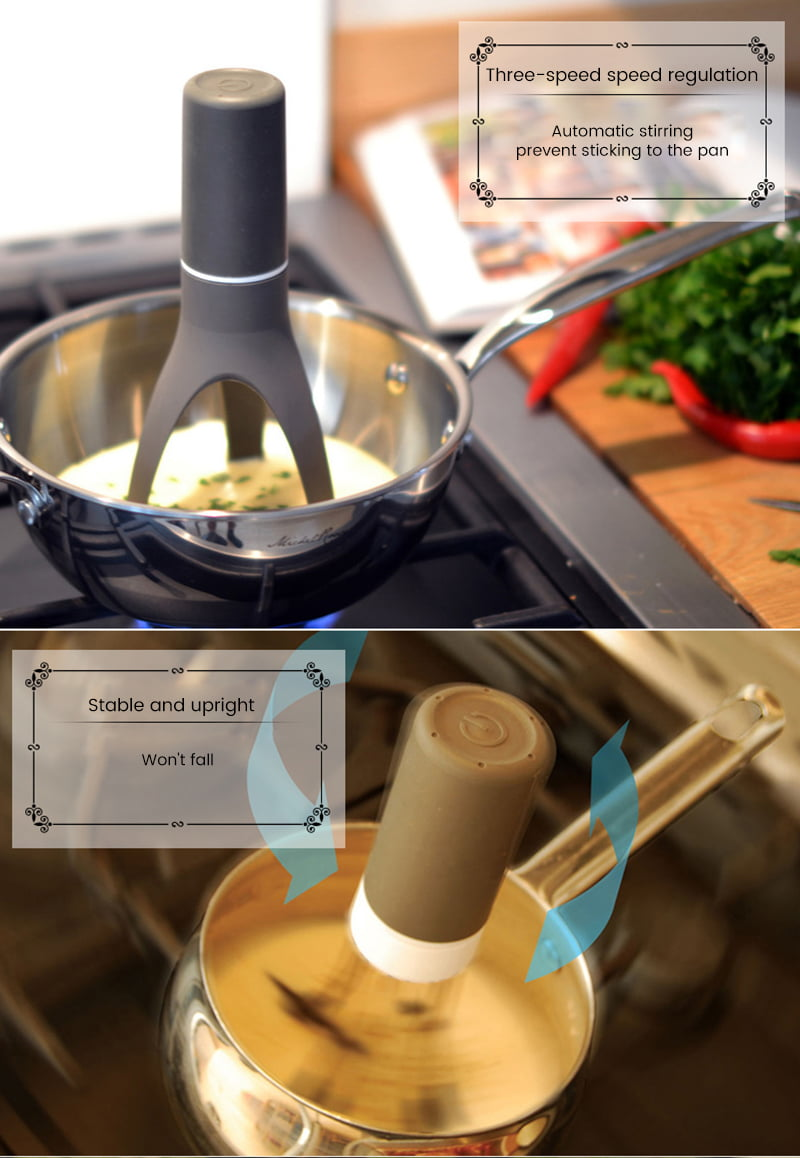 Automatic Stirrer With Timer