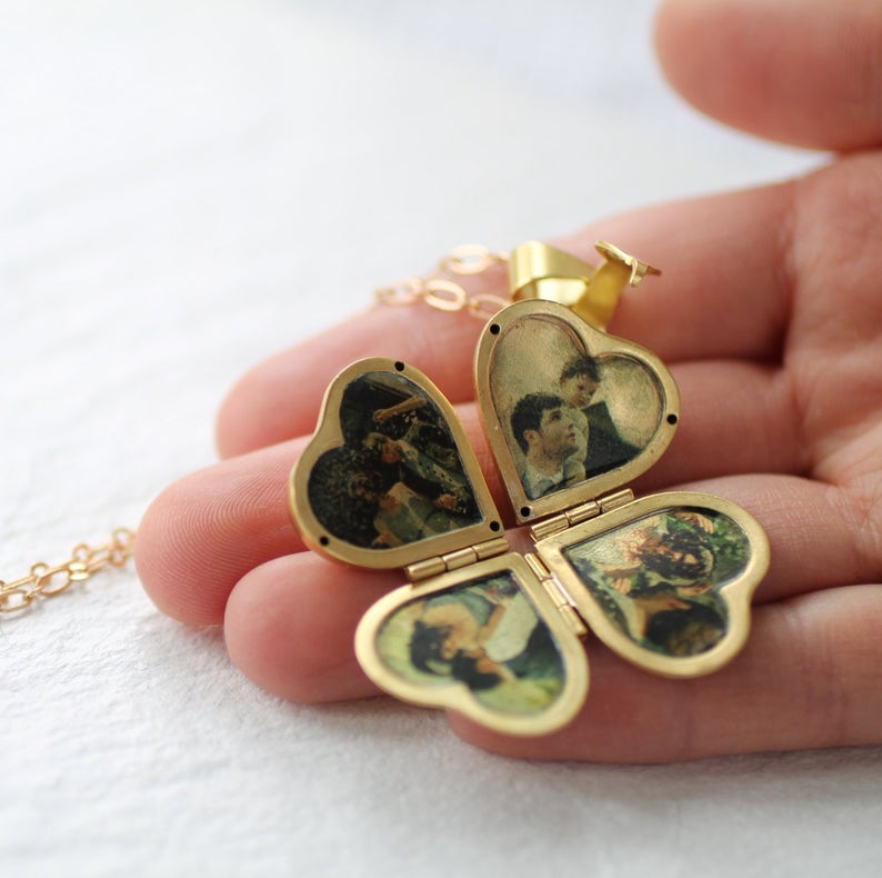 Personalized Locket Necklace For Gift Idea