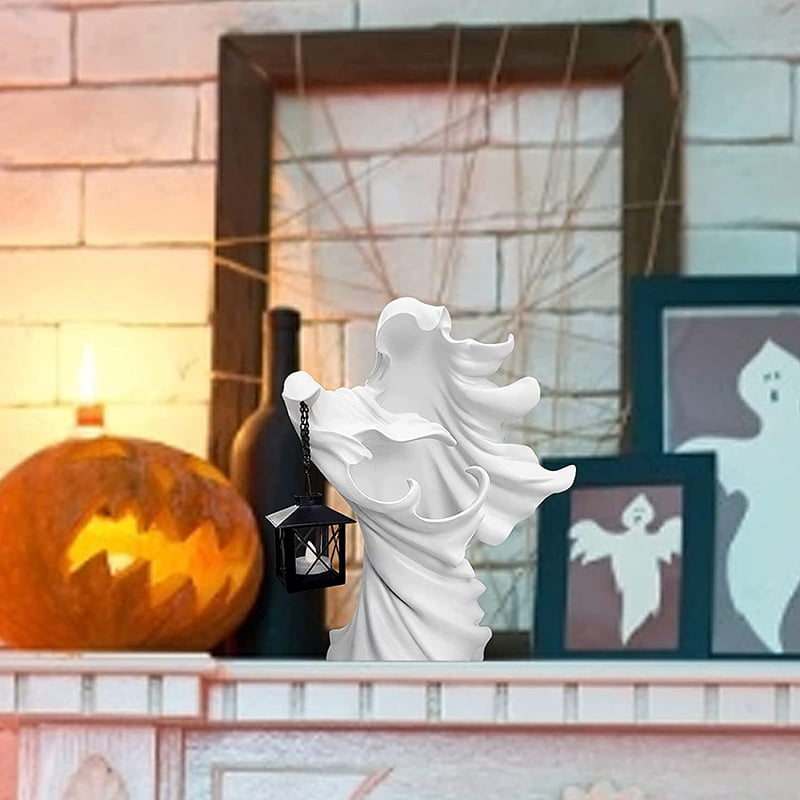 Ghost Halloween Lantern The Ghost Looking For Light